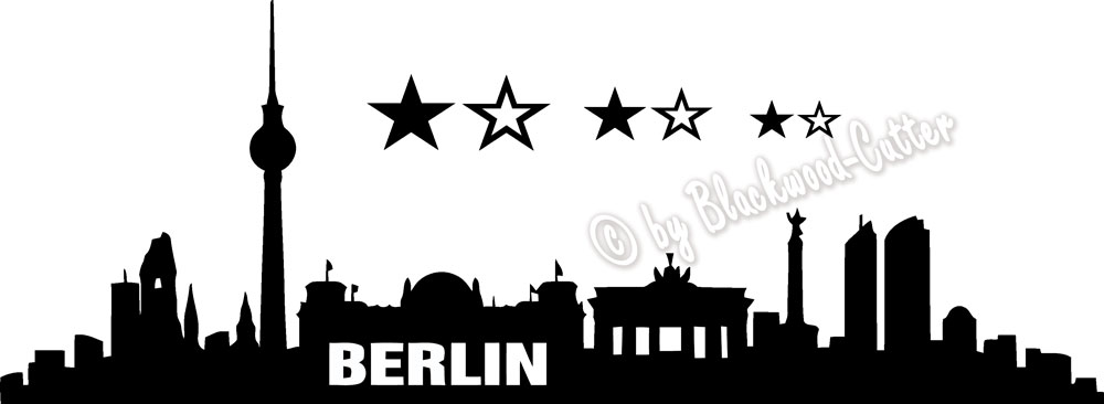 folien factory shop berlin skyline aufkleber wandtattoo. Black Bedroom Furniture Sets. Home Design Ideas