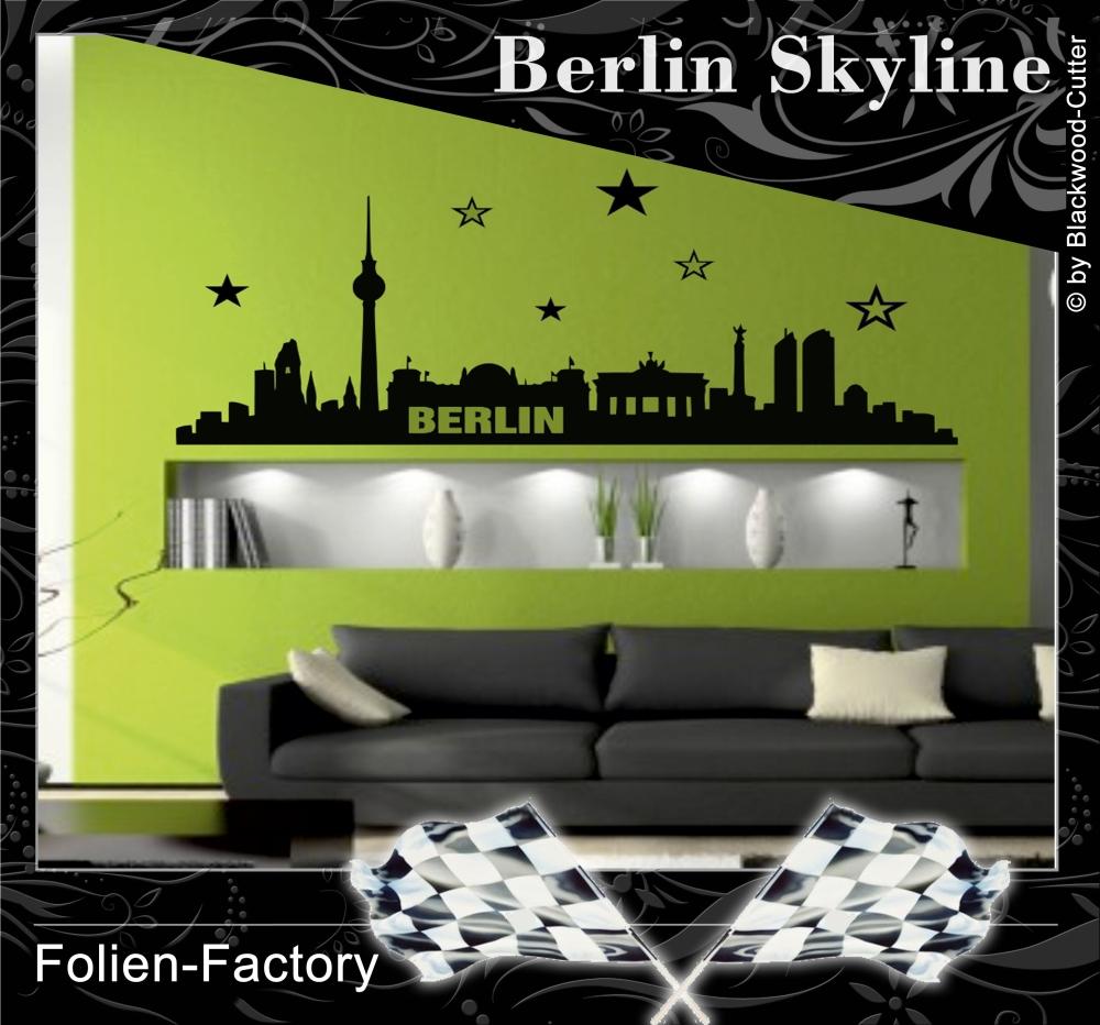 Fesselnde Wandtattoo Berlin Referenz Von - Skyline