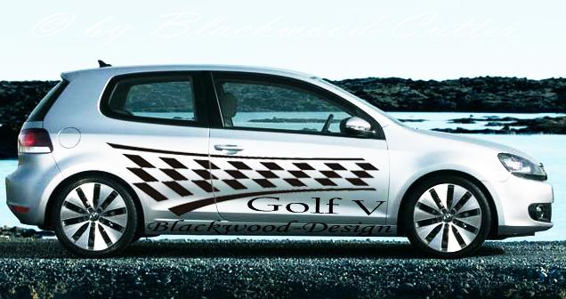 golf racing tuning aufkleber vw ford bmw opel mercedes ebay. Black Bedroom Furniture Sets. Home Design Ideas