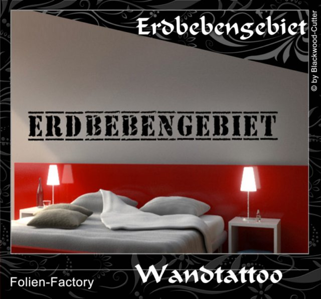 wandspr che von folien factory aufkleber. Black Bedroom Furniture Sets. Home Design Ideas